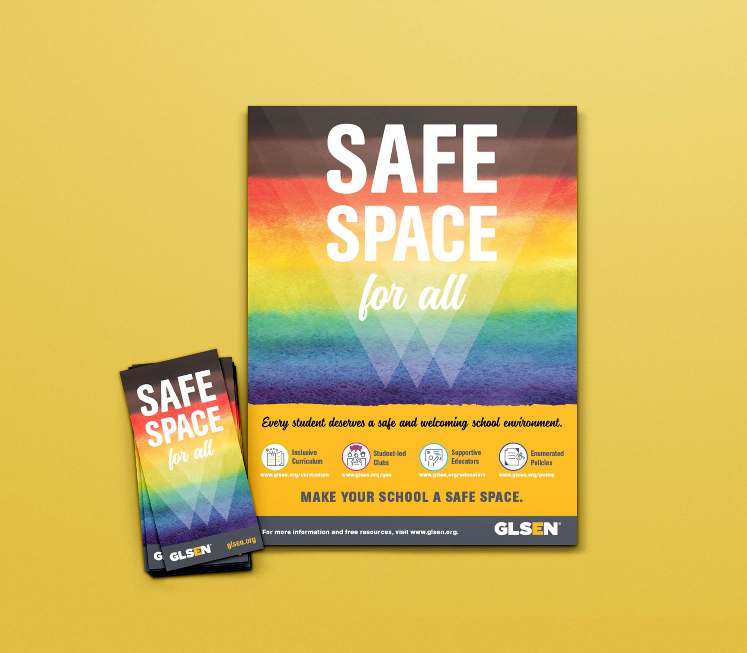 Safe Space Stickers and Posters