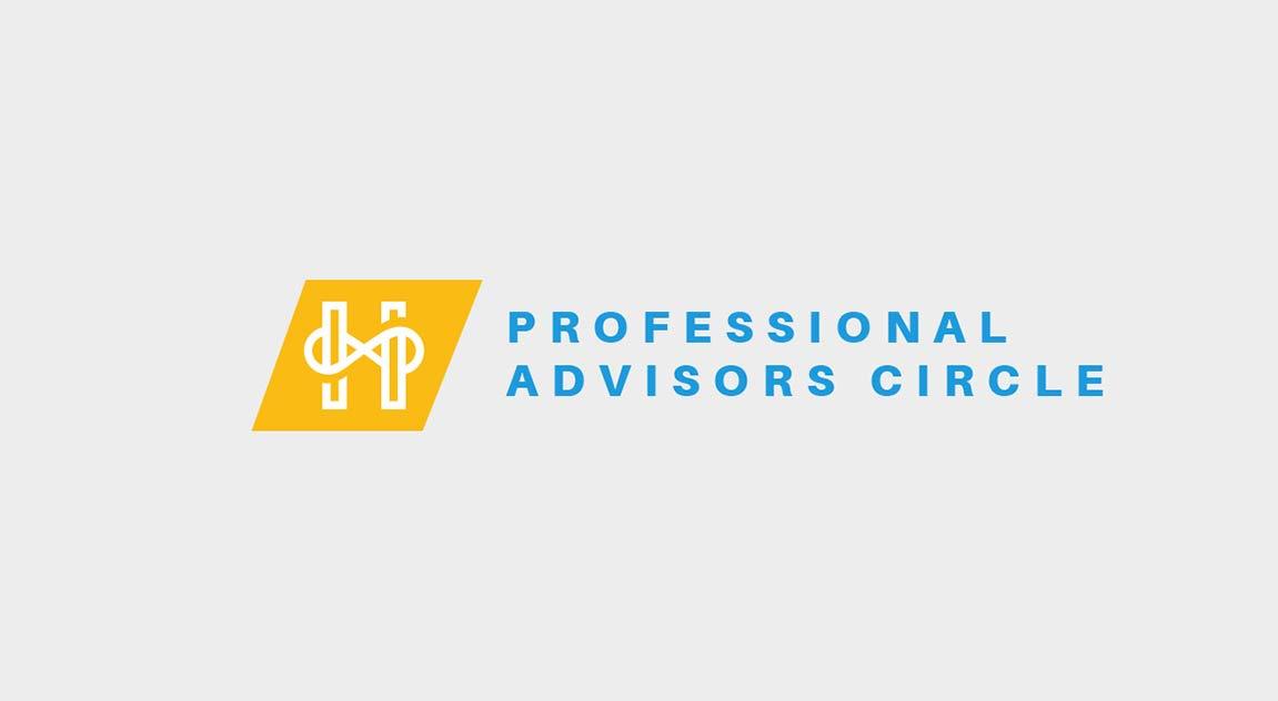 "Horizons' logo ""Professional Advisors Circle"""