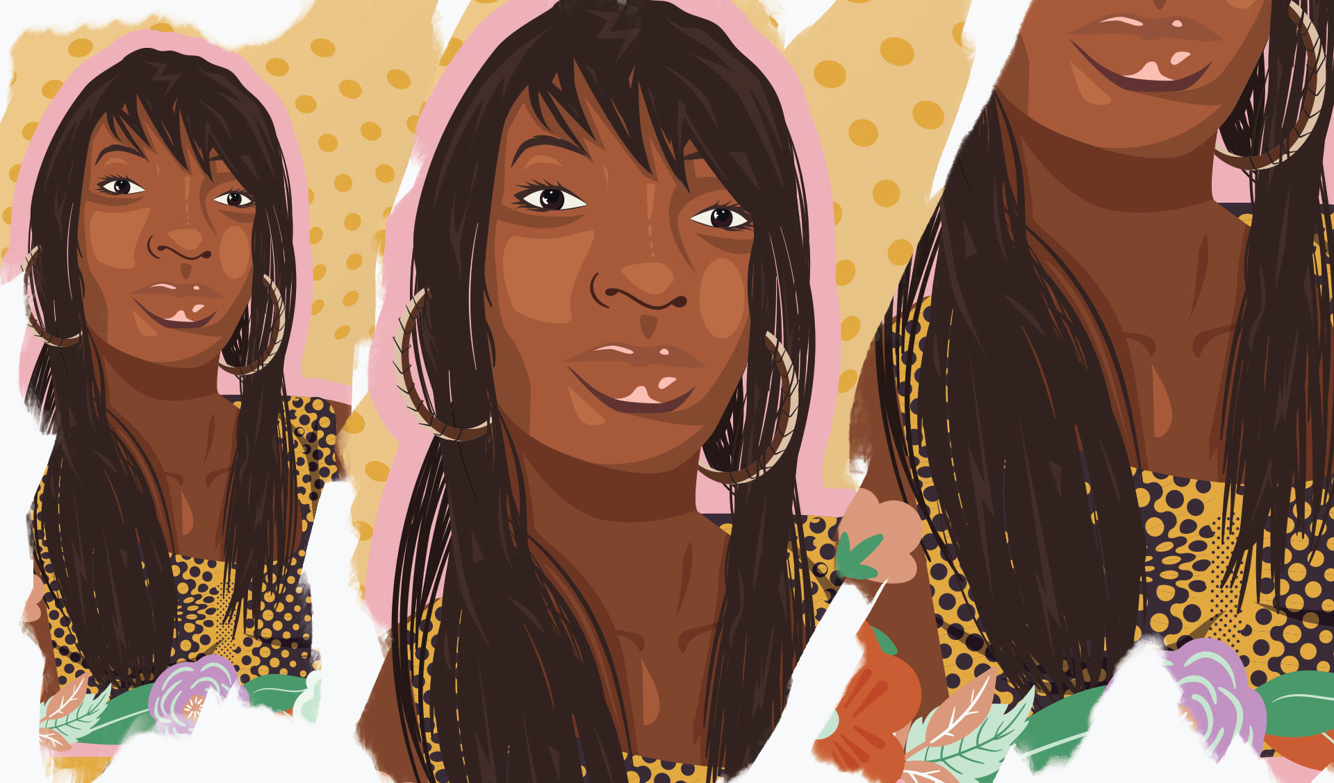 Charleena Lyles illustration details.