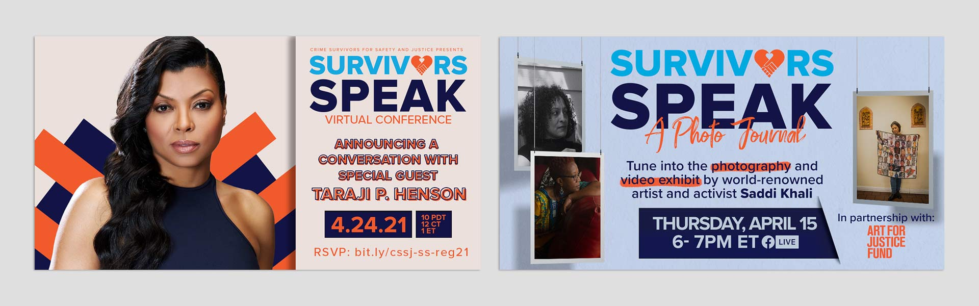 Survivors Speak selected Social Media